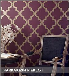 Temporary Wallpaper!  Arts and Classy - Home Decorating on a Budget: April 2012