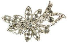 Maaria B's Accessories Silver Diamante Flower Brooch Broach Jewellery Maaria B's Accessories, http://www.amazon.co.uk/dp/B00DS5RZG6/ref=cm_sw_r_pi_dp_fhgYsb1WEXKC2