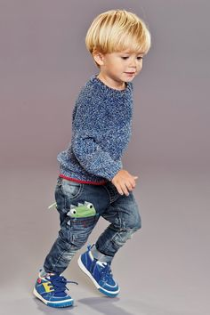 Buy Blue Twisted Crew Neck (3mths-6yrs) from the Next UK online shop