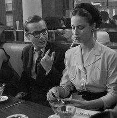 Simone de Beauvoir and Jean Paul Sartre