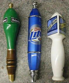 Draft Beer Handle Display   Tap handle lots like these are selling everyday on eBay-A great way to ...