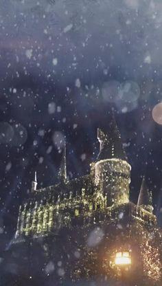 Snowing At Hogwarts