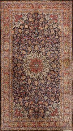Persian Keshan rug, Matt Camron gallery