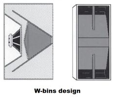 Horn loudspeakers are the best when it come to efficiency, but they are too big for woofers. The folded horn speaker design solves this. Pro Audio Speakers, Horn Speakers, Diy Speakers, Subwoofer Box Design, Speaker Box Design, Klipsch Speakers, Loudspeaker Enclosure, Woofer Speaker, Speaker Plans