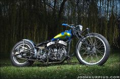 Bobber Inspiration | Harley Flathead custom bobber | Bobbers and Custom Motorcycles