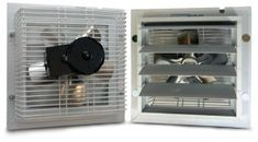 Blog post: Summer Climate Control - thermostatically controlled exhaust fan makes our greenhouses the best for year round growing!