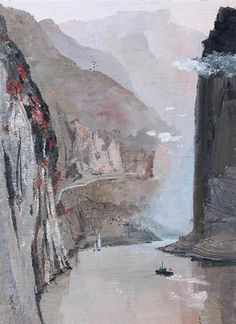 Wu Guanzhong, The Three Gorges of the Yangtze River