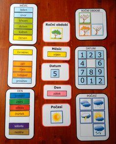 Kalendář - pro domácí / školní / školkové využií
