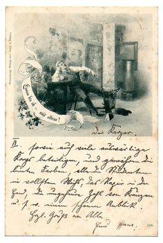 Studentika Heidelberg Einsam BIN ICH Nicht Alleine 1897 | eBay