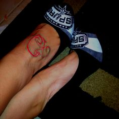My San Antonio Spurs Heels!