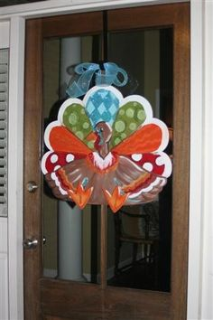 Thanksgiving door hanger...