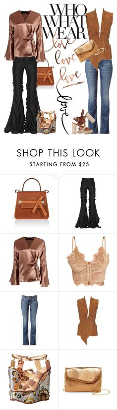 """Whole Lotta Lovin'"" by poetic-flame ❤ liked on Polyvore featuring ESCADA, Marco de Vincenzo, Boohoo, Hudson Jeans, Hermès, Charlotte Olympia, HOBO, Michael Kors and Who What Wear"
