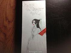 Một số WIP, sketch by Hans (aka Mộ Quân Hàn)