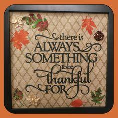 thankful close up