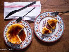 Flan mandorle e caramello ricetta