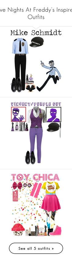 Five Nights At Freddys Inspired Outfits By Dragonladydoctor Liked On Polyvore Featuring Topshop