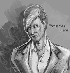 Sketch Pagan Min by torylesner
