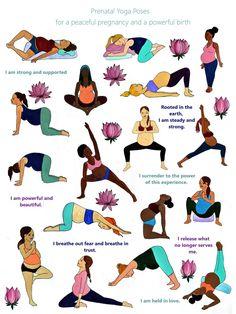 Prenatal Yoga x pregnancy/ birth art/ educational poster/ midwife. - Prenatal Yoga x pregnancy/ birth art/ educational poster/ midwife/ doula/ childb - Prenatal Yoga Poses, Prenatal Workout, Pregnancy Workout, Pregnancy Tips, Pregnancy Belly, Pregnancy Yoga Poses, Pregnancy Clothes, Ectopic Pregnancy, Early Pregnancy
