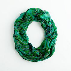 Jade printed scarf @ Jcrew Factory (i <3 this pattern)