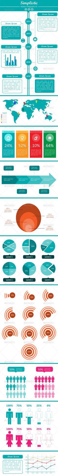 Simplitic – Modern Infographic Kit