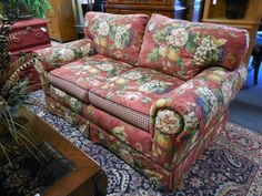 Love Seat - Custom Made $569.00. - Consign It! Consignment Furniture