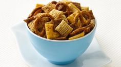 Kick your party up a notch with a spicy concoction of Chex® cereals, pretzels and parmesan-flavored crackers.
