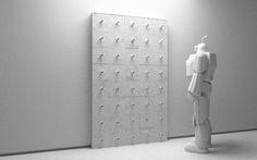 Sculpture, Model 3D, ZBrush, Cinema 4D, Art, Metal.