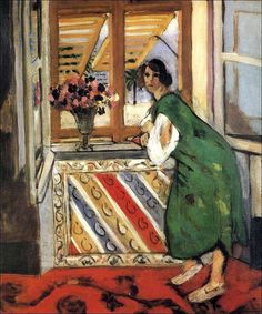 "Henri Matisse (1869‑1954) - ""Young Girl in a Green Dress"", 1921"