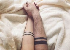 Couple tattoo: by pamela