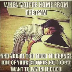 Hahaha yes! Or Just lay on the floor   #tfw #thefitnesswolf #health #fitness #lol #funny