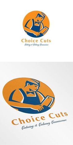 Choice Cuts Catering and Culinary Co by patrimonio on @creativemarket