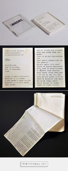 Carl Andre Andre Städtisches Museum, 1968... - a grouped images picture - Pin Them All