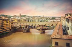 Ponte Vecchio - http://ift.tt/2rxGlK2 Do you like this? Visit my City & Architecture gallery if you want see more works!Thank you for your support!