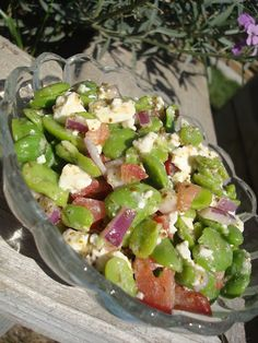 Busy Vegetarian Mom: Fava Bean Salad