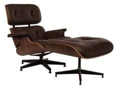 Replica Eames Premium Lounge Chair and Ottoman | Matt Blatt
