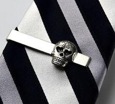 Skull Tie Clip