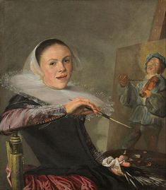 It wasn't all Rembrandt! Learn about notable female painters of the Dutch golden age.