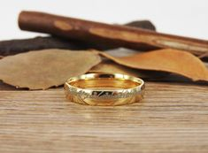Handmade Gold Filled Dome Custom Your words in Elvish Tengwar, Wedding Bands, Couple Ring, Titanium Anniversary Ring Matching Wedding Bands, Wedding Matches, Wedding Ring Bands, Ring Set, Titanium Rings, Couple Rings, Anniversary Rings, Rings For Men, Deco