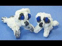 Rainbow Loom Charms: BABY SEAL Pup: How to Make these Rainbow Loom Animal Designs / Figures