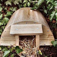 How To Build A Hedgehog House.......
