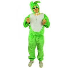 3 teiliges Hasenkostüm grün Bunny Osterhase