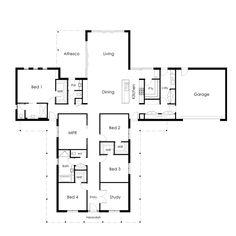 Acreage Homes . Architectural Floor Plans, Building Companies, Plan Design, House Floor Plans, Future House, Homestead, Villa, Gaming, House Design