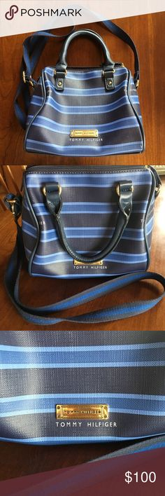 Tommy Hilfiger crossbody! SO adorable, excellent condition! Very unique! So sad to give it up but I just have too many purses. 😂 Tommy Hilfiger Bags Crossbody Bags
