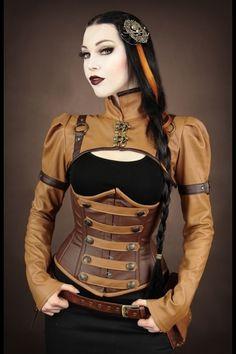 Nice combi shrug and corset.