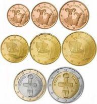 Alle euromunten - Euromunten en biljetten Piece Euro, Saving For Retirement, World Coins, Coin Collecting, Cyprus, Paphos, Native Americans, December, Africa