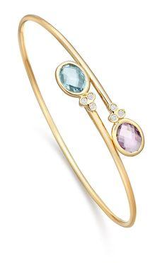 bracelet en or rose style pandora Diamond Jewelry, Gold Jewelry, Jewelry Accessories, Cuff Jewelry, Gold Bangles, Bangle Bracelets, Blue Topaz Diamond, Gold Jewellery Design, Sea Glass Jewelry