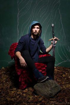 Night Memory: Hooded scarf Designer: Layla Azer Photographer: Bruce Walker
