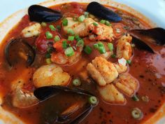 Seafood Stew: 8/23/14