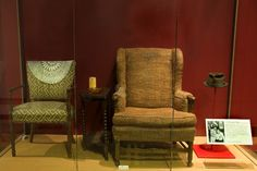 "Jean Stapleton, who played Archie Bunker's wife in ""All in the Family,"" has passed. Archie and Edith sat in these chairs discussing social and political issues, with Archie's prejudice tempered by Edith's tolerance. They symbolize the conflict between bigotry and tolerance central to the show. Did you watch it?"