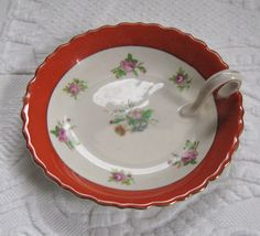Vintage Little Dish with Handle by vintagous on Etsy, $20.00
